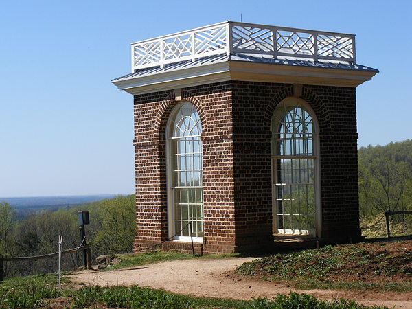 Monticello Photograph - Monticellos Overlook by James and Vickie Rankin