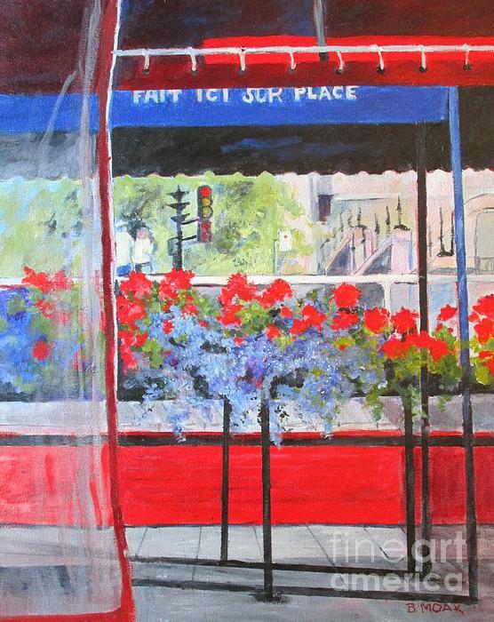 Barbara Moak - Montreal Cafe