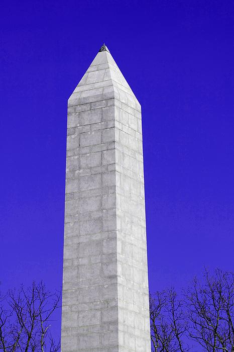 Monument Photograph - Monument Blue by Tina B Hamilton