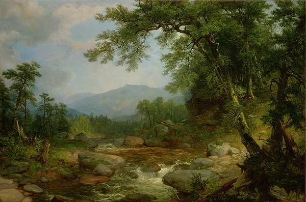 Monument Painting - Monument Mountain - Berkshires by Asher Brown Durand