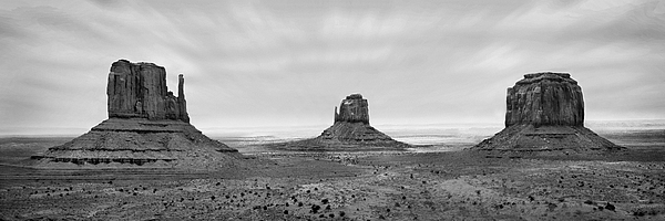 Landscape Photograph - Monument Valley by Mike McGlothlen