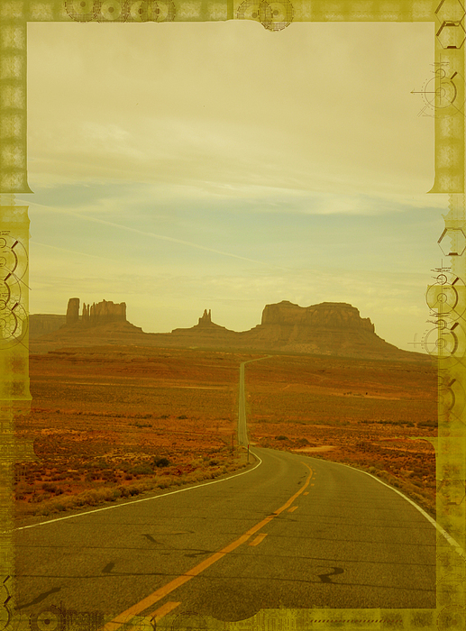 Landscape Photograph - Monument Valley Print by Dewese Milstead