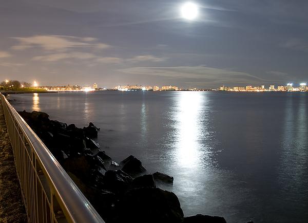 America Photograph - Moon Light by Svetlana Sewell