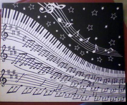 Moonlight Mixed Media - Moonlight Sonata by Chris Hedges