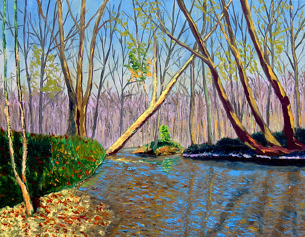 Landscape Painting - Mooresville 11 2 by Stan Hamilton