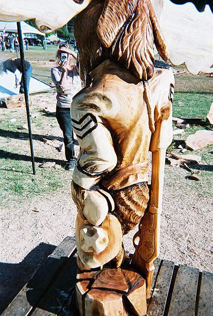 Moose Back Sculpture by Chris Foltz