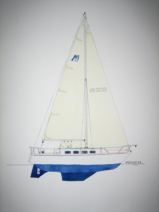 Morgan 32 Painting by Jeff Lucas