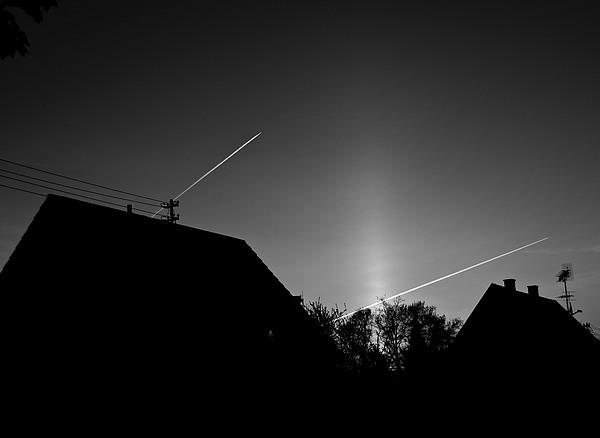 Aircraft Photograph - Morning Flight by Richard Pierce
