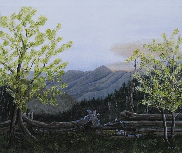 Landscape Painting - Morning Glory Sunrise by RJ McNall