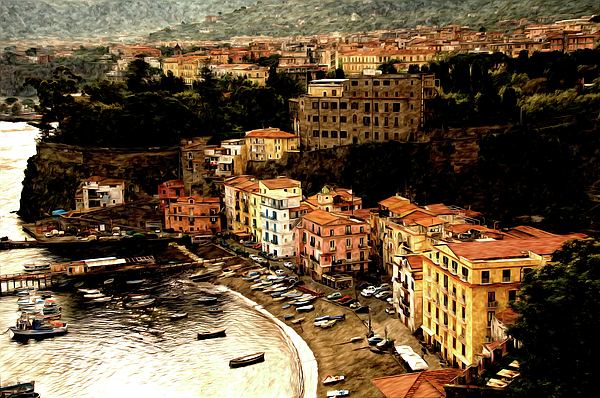 Sorrento Photograph - Morning In Sorrento Italy by Xavier Cardell