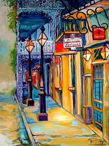 New Orleans Painting - Morning In The French Quarter by Marcia Baldwin