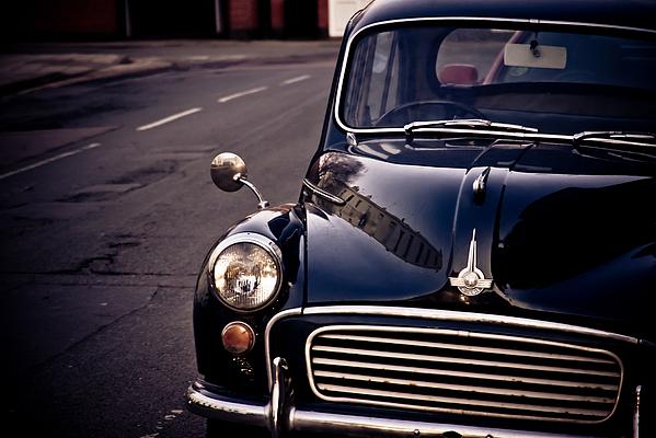 Car Photograph - Morris Minor by Justin Albrecht