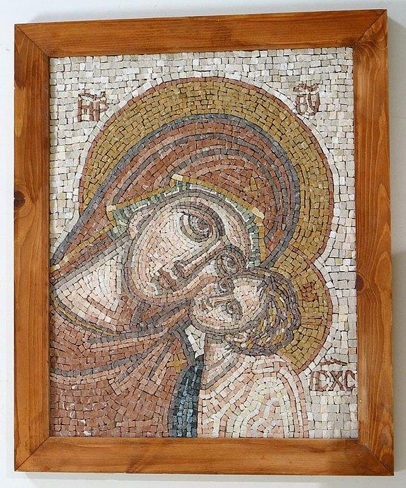 Mosaic Relief - Mosaic by Nataliya Pakhomova
