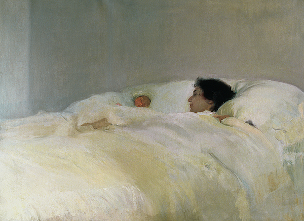 Mother Painting - Mother by Joaquin Sorolla y Bastida