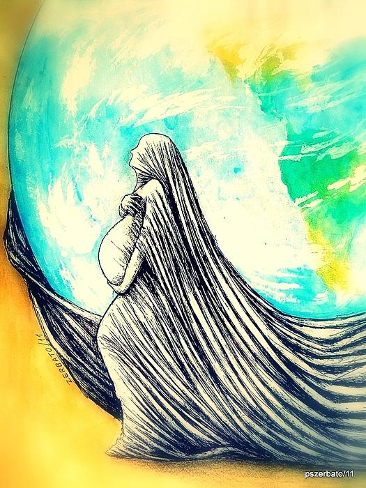 Mother Digital Art - Mother by Paulo Zerbato
