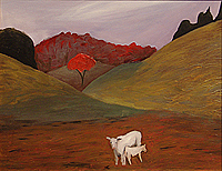 Landscape Painting - Motherhood by Chris Cook