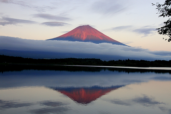 Horizontal Photograph - Mount Fuji by Japan from my eyes