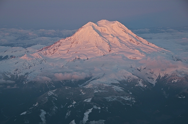 Horizontal Photograph - Mount Rainier, Wa by Professional geographer who loves to capture landscapes