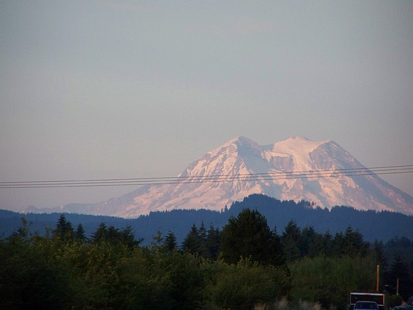 Mount Rainier Washington  Photograph by Laurie Kidd