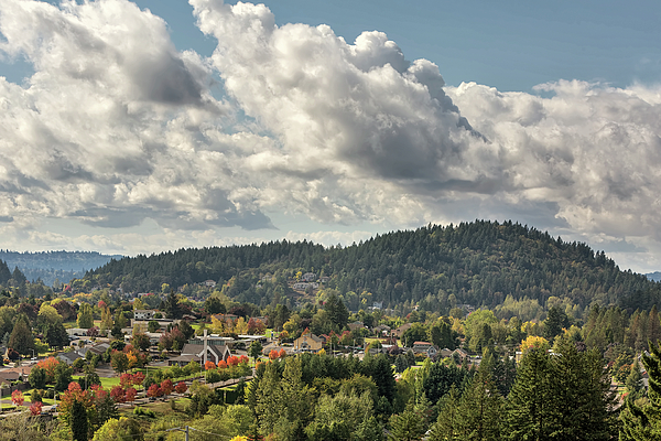 Mountain Photograph - Mount Talbert In Happy Valley Oregon by David Gn