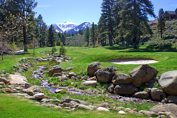 Golf Photograph - Mountain Golf Course by Thomas Marchessault