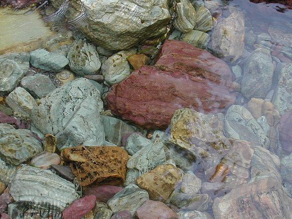 Montana Photograph - Mountain Stones by Lisa Patti Konkol