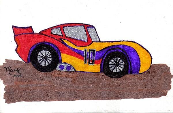 Mr. 10 Drawing by Mildred Ann Utroska        Mauk