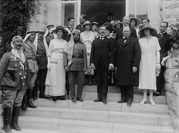 History Photograph - Mr. And Mrs. Winston Churchill by Everett