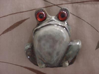Mr.  Mr. Grumpy-sold Sculpture by Lisa Ruggiero