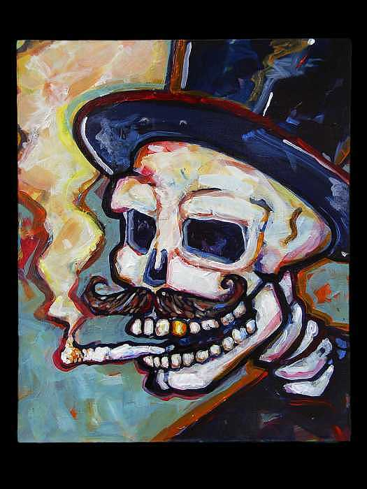 Mr. Muerto Painting by William  Wiggins III