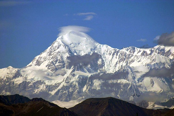 Mt. Mckinley Circling Wind Photograph by Jack G  Brauer