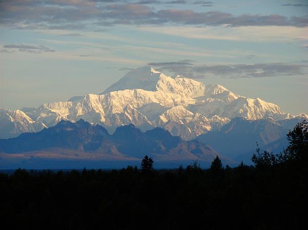 Dora Miller - Mt McKinley known as Denali