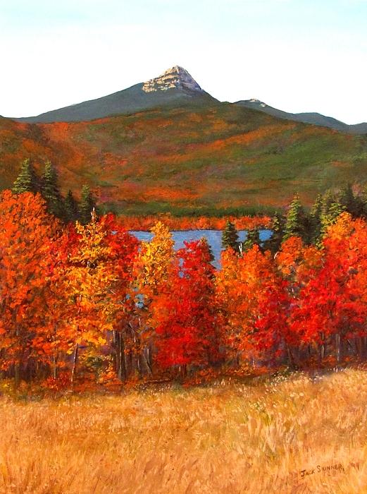 Mt Chocorua Painting - Mt.chocorua by Jack Skinner