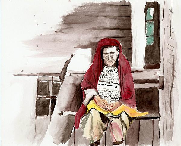 Russa Painting - Mulher Russa by Alexandro MF