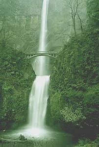 Multnomah Falls Photograph - Multnomah Falls by Floyd Bond