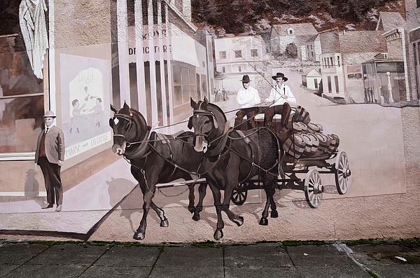 Mural Photograph - Mural Art Oregon 2 by Bob Christopher