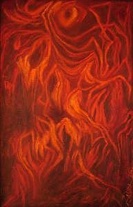 Abstract Painting - Muse II by Lyuba Zahova