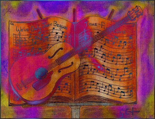 Music Digital Art - Music by Gregory Cunningham