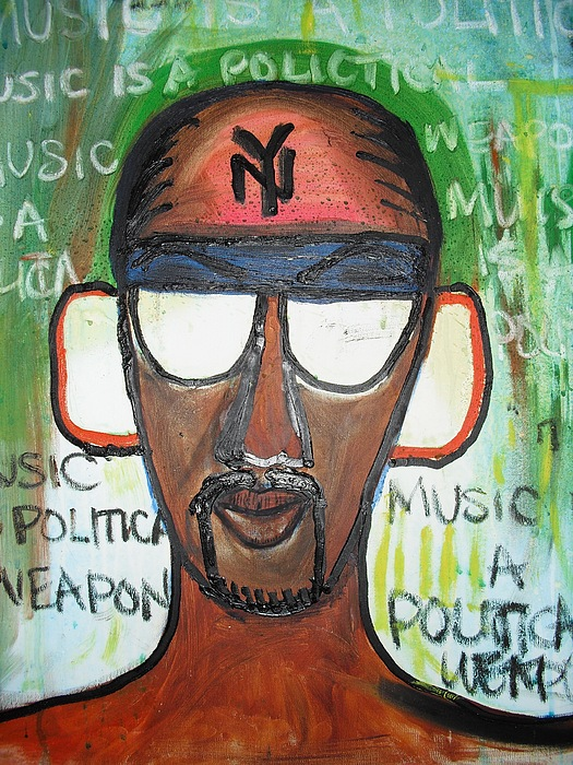 Music Is A Weapon Painting by Troix Johnson