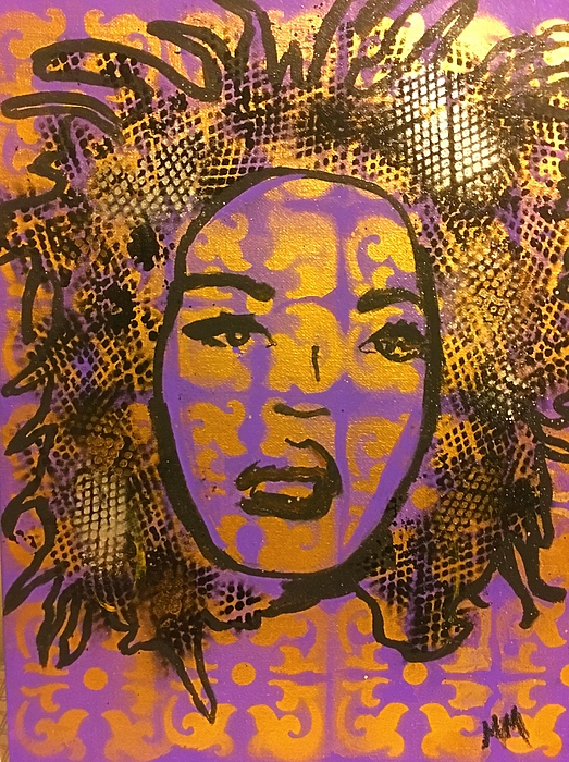 Lauryn Hill Mixed Media - Music Mother  by Miriam Moran