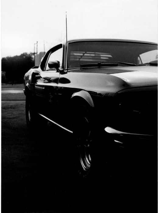 Car Photograph - Mustang by Laura Murphy