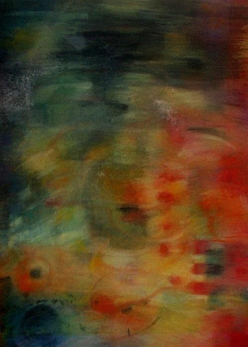Mw Series - Video Animation Stills-b1 Painting by Arlene Rabinowitz