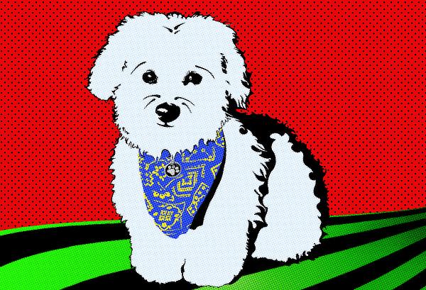 Dog Digital Art - My Beloved by Crista Smyth