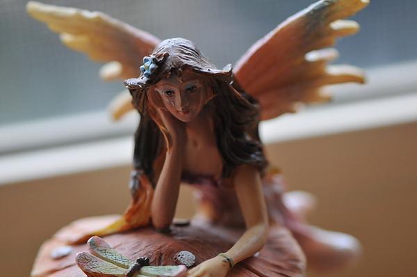 Fairy Photograph - My Fairy by Ally Elizabeth