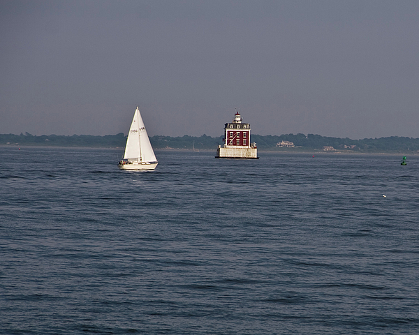 New London Ledge Light Photograph - My Favorite Lighthouse by Gerald Mitchell