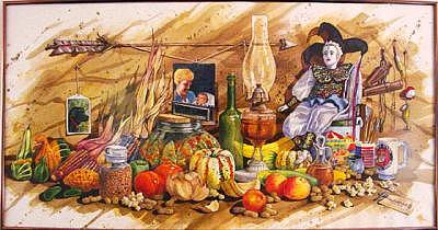 Still Life Painting - My Favorite Things by Larry Wetherholt