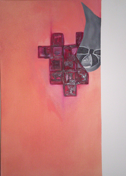 Jewel Painting - My First Oil by Timea Albert