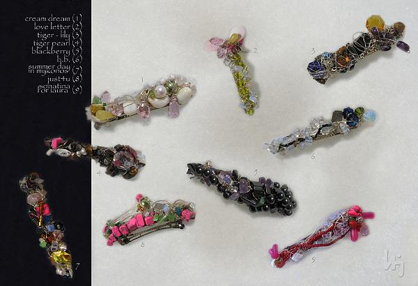 Fantay Jewelry - My Jewelry 04 Hair Jewels by Jelena Ignjatovic