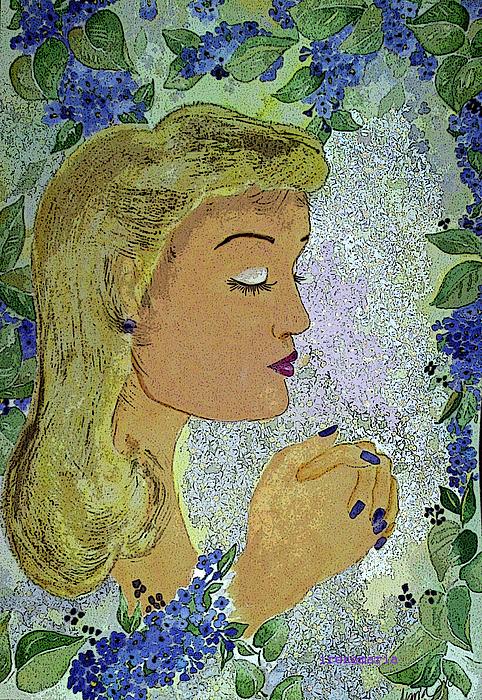 My Prayer Painting by Irenemaria