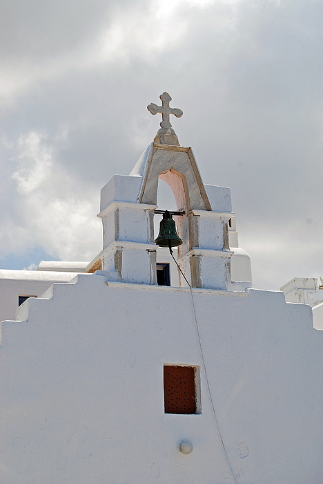 Church Photograph - Mykonos Church by Armand Hebert